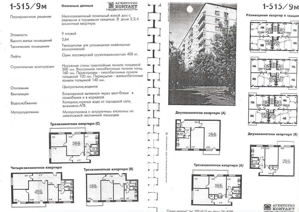 Серия 1 510 размер балкона..