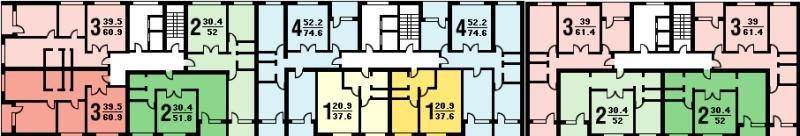 Серия дома п-30- планировка квартир. всё о серии..