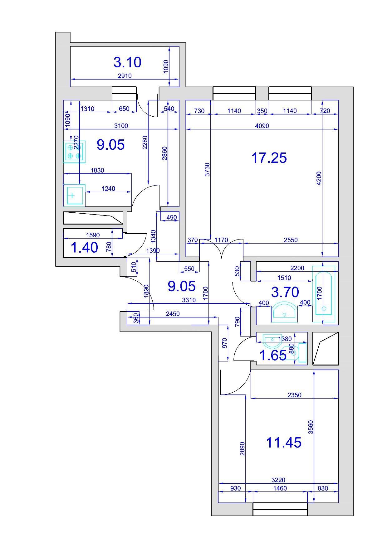 Серия гмс-2001- планировки квартир. всё о серии..