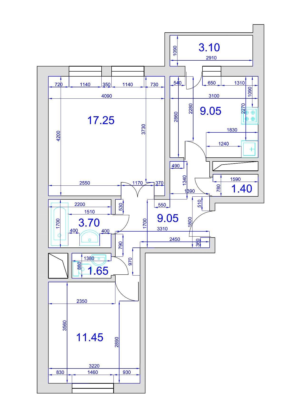 Серия гмс 2001 перепланировка квартир