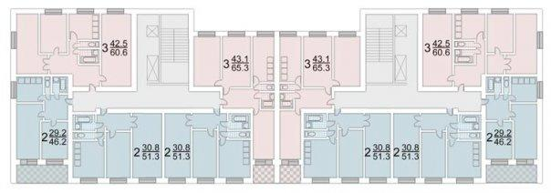 Серия ii-68-03- планировка квартир. всё о серии..