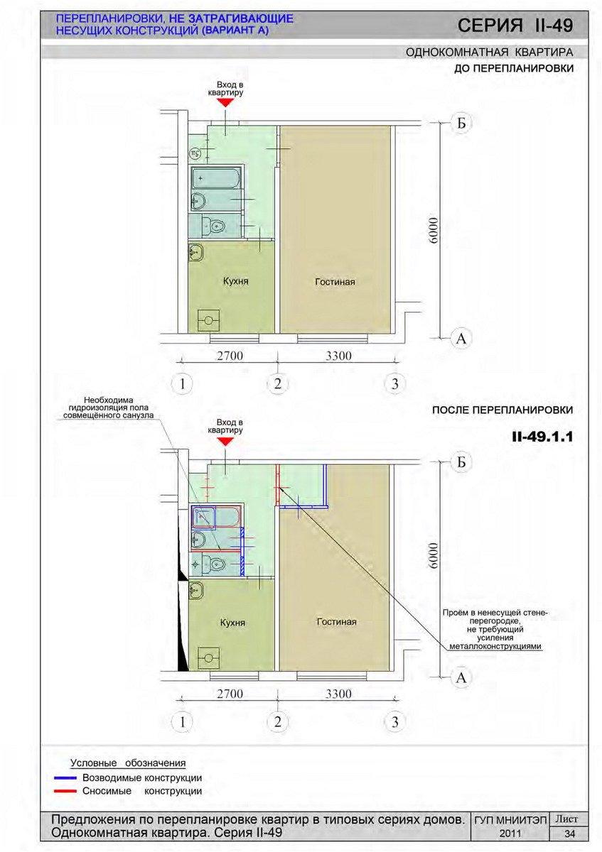 Серия ii-49- планировки квартир. всё о серии..