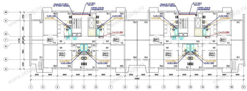 Схема водоснабжения типового