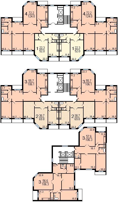 определение типовой серии жилого здания - Нужные схемы и описания для всех.