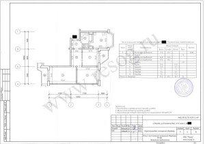 Перепланировка панельной трехкомнатной квартиры. После перепланировки.