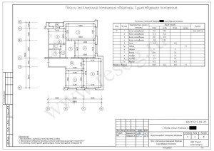 Перепланировка четырехкомнатной квартиры в панельном доме до