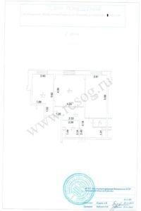 Поэтажный план квартиры из Ростеха