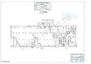 Технический план БТИ на нежилое помещение.