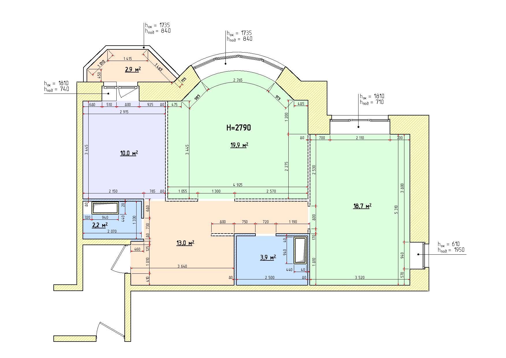 Обмен трехкомнатной квартиры на 16