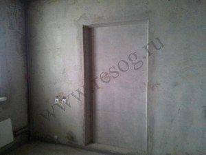 Вафля- углубление под проём в несущей стене.