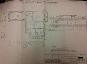 Перепланировка 3-х комнатной хрущевки.