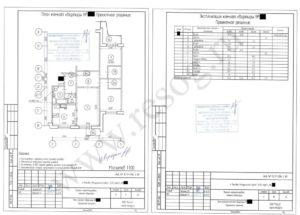 План и экспликация квартиры после перепланировки