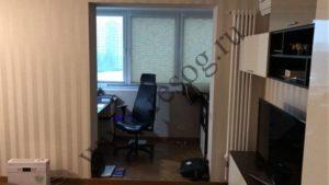 Присоединение балкона к комнате- несогласуемый вариант