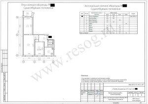 Проект перепланировки трехкомнатной квартиры. Планировка до ремонта.