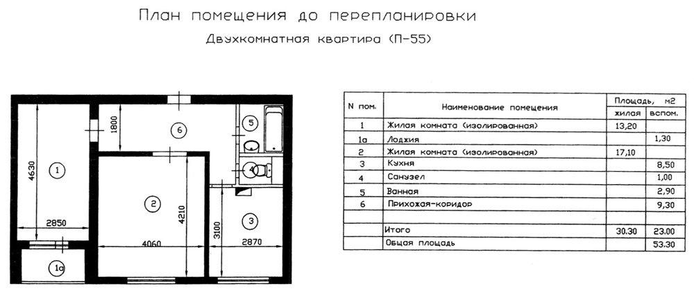 Серия п-55 планировка квартир. вся информация..