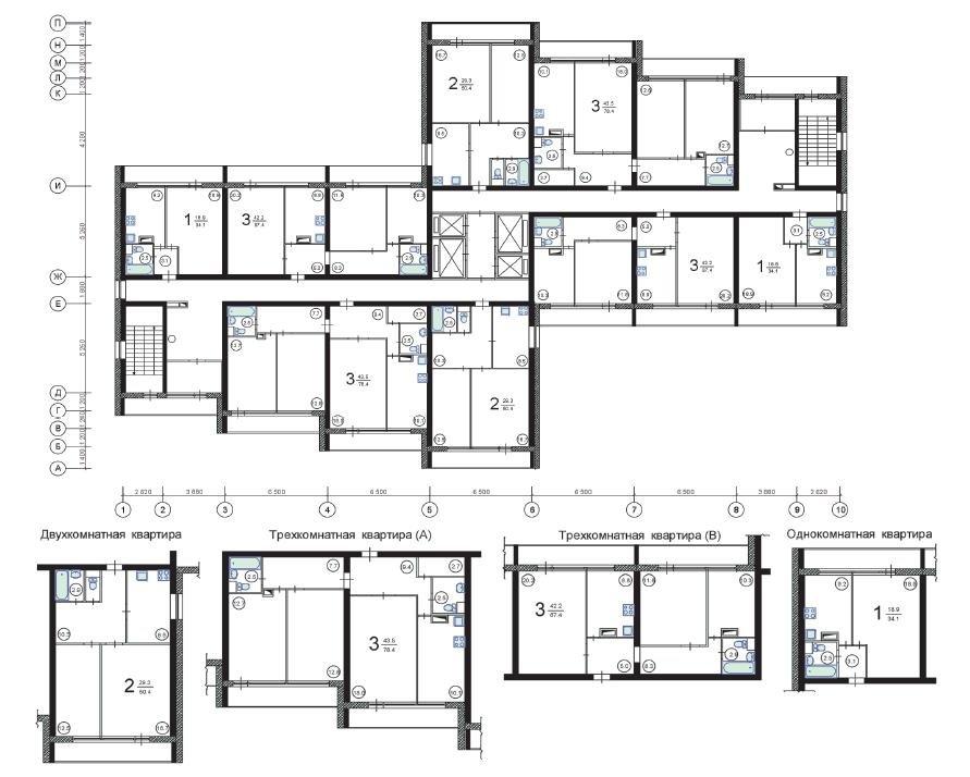 Серия и-700- планировка квартир. всё о серии..