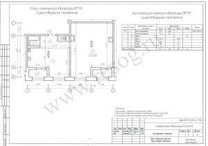 Техническое заключение о состоянии строительных конструкций. План квартиры до перепланировки.