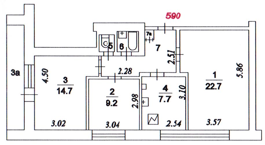 Серия ii-68- планировка квартир. вся информация..