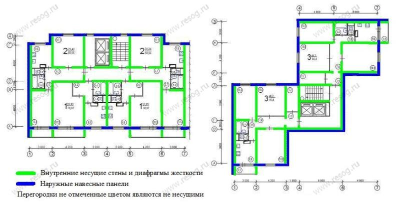 Серия п-46- планировка квартир. всё о серии..