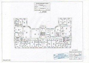 Согласование перепланировки нежилого помещения в нежилом здании- утвержденный план.